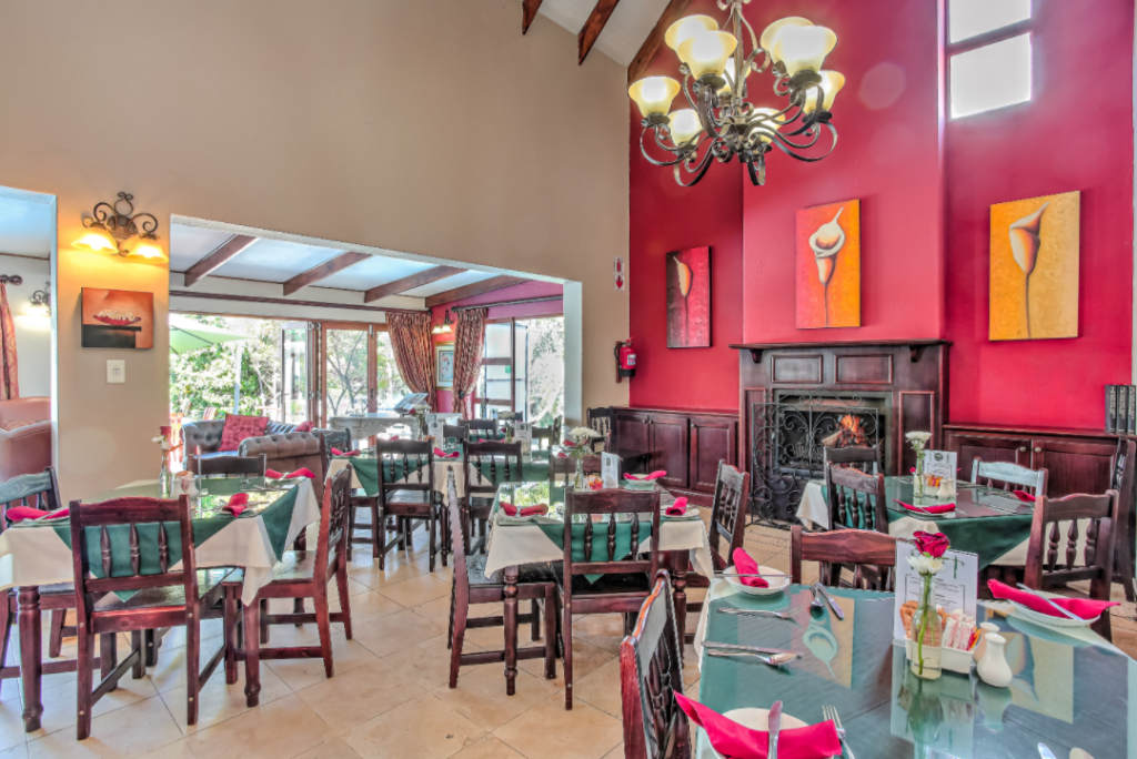 Accommodation dining in Sunninghill